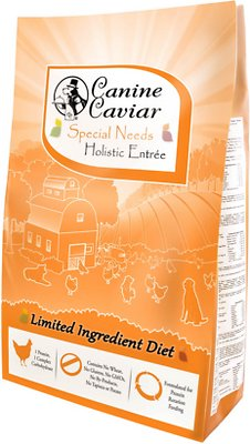 Canine Caviar Limited Ingredient Diet Special Needs Holistic Entrée Dry Dog Food, 22-lb