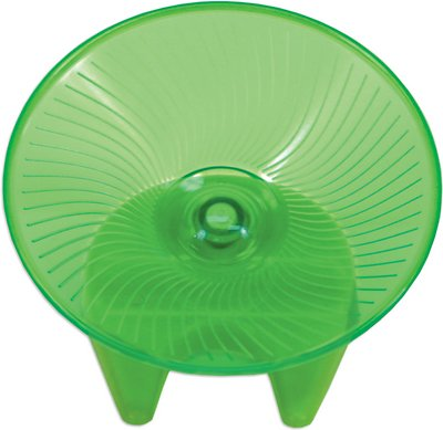 Ware Flying Saucer Small Animal Exercise Wheel, Color Varies, Medium
