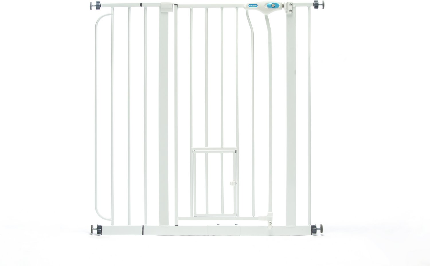 Carlson Pet Products Extra Tall Walk-Thru Gate with Pet Door, Extra Tall