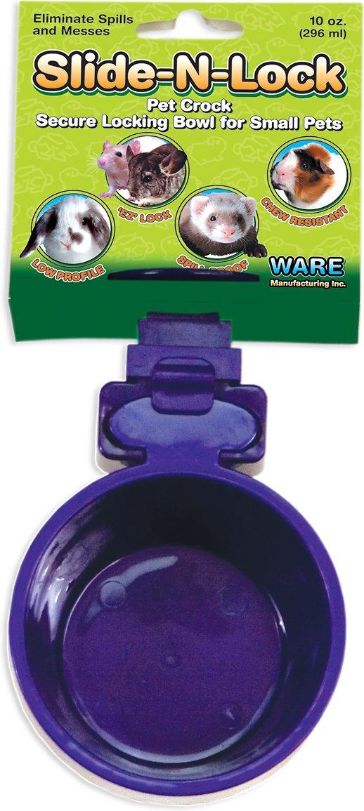 Ware Slide-N-Lock Small Animal Bowl Image