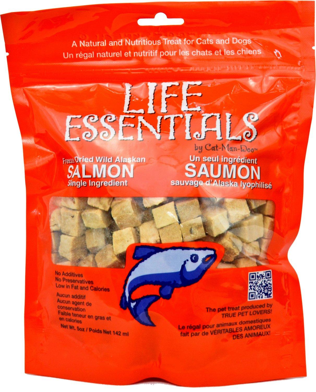 Life Essentials Wild Alaskan Salmon Freeze-Dried Cat & Dog Treats Image