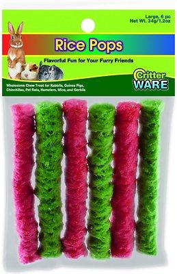Ware Rice Pops Small Animal Treats, Large