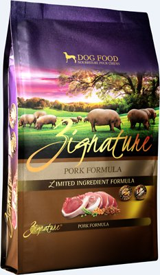 Zignature Pork Limited Ingredient Formula Grain-Free Dry Dog Food, 12.5-lb bag