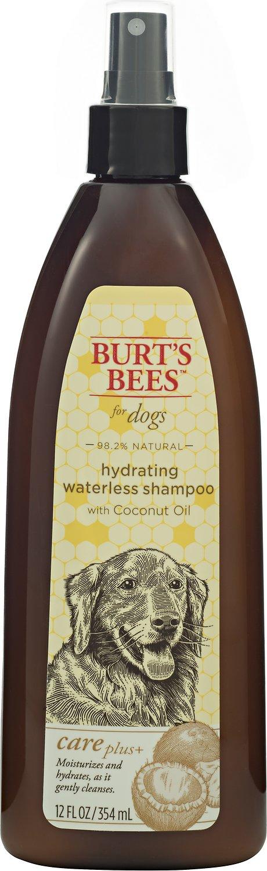 Burt's Bees Care Plus+ Hydrating Waterless Shampoo Dog Spray, 12-oz bottle