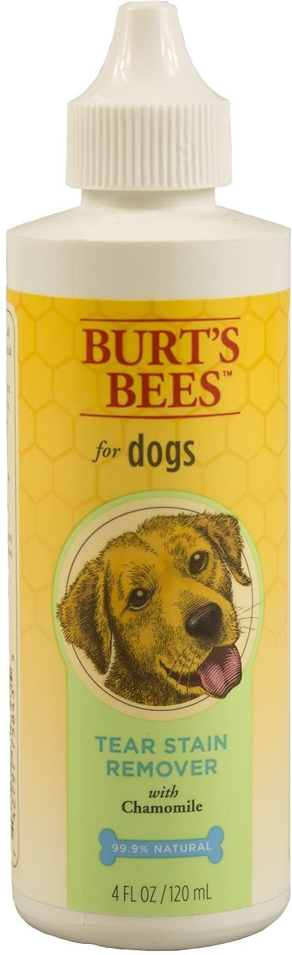 Burt's Bees Dog Tear Stain Remover, 4-oz bottle (Weights: 4 ounces) Image