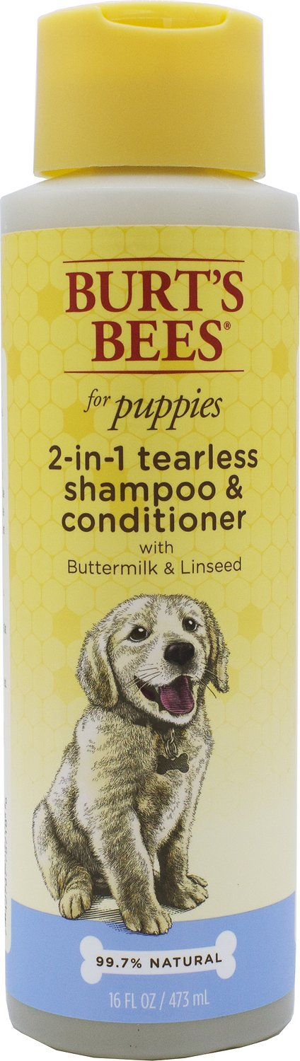 Burt's Bees Puppy 2-in-1 Shampoo, 16-oz bottle