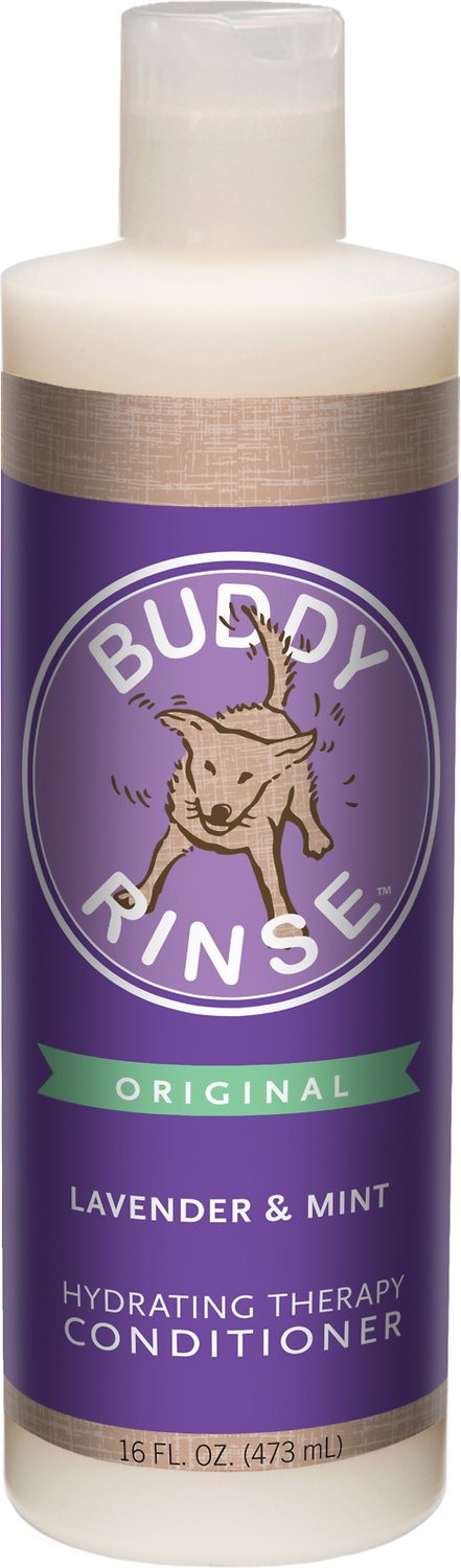 Buddy Wash Original Lavender & Mint Dog Conditioner Rinse, 16-oz bottle