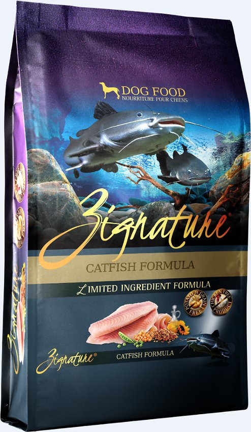 Zignature Catfish Limited Ingredient Formula Grain-Free Dry Dog Food Image