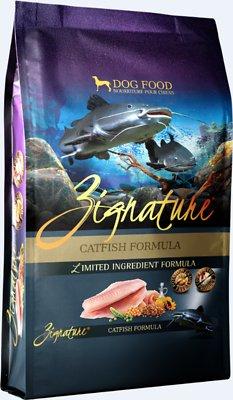 Zignature Catfish Limited Ingredient Formula Grain-Free Dry Dog Food, 4-lb bag