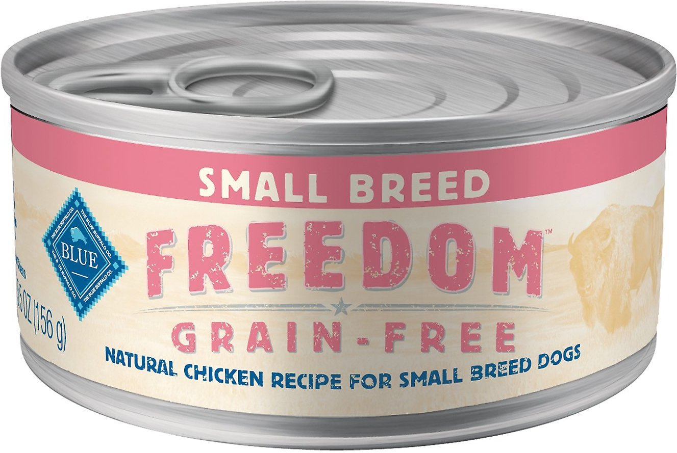 Blue Buffalo Freedom Small Breed Adult Chicken Recipe Grain-Free Canned Dog Food Image