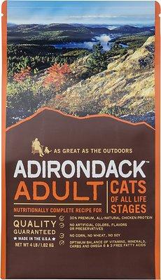 Adirondack Adult Recipe Dry Cat Food, 4-lb bag