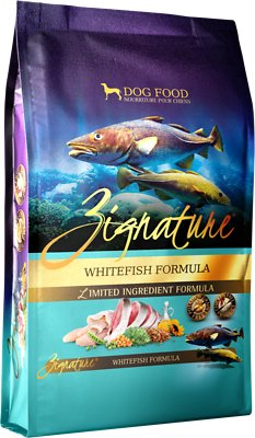 Zignature Whitefish Limited Ingredient Formula Grain-Free Dry Dog Food, 25-lb bag