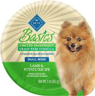 Blue Buffalo Basics Limited Ingredient Grain-Free Lamb & Potato Small Breed Adult Wet Dog Food Image