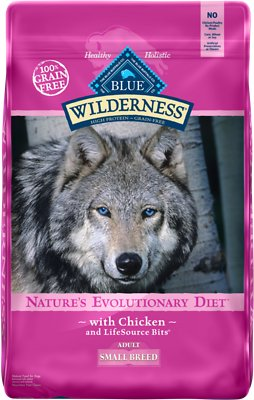 Blue Buffalo Wilderness Small Breed Chicken Recipe Grain-Free Dry Dog Food, 11-lb bag