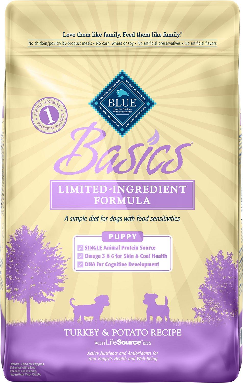 Blue Buffalo Basics Turkey & Potato Recipe Puppy Dry Dog Food Image