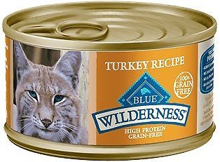 Blue Buffalo Wilderness Turkey Grain-Free Canned Cat Food Image