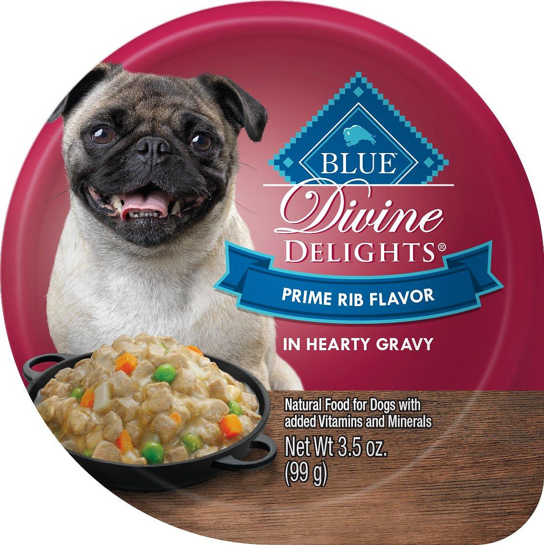 Blue Buffalo Divine Delights Prime Rib Flavor Hearty Gravy Dog Food Trays Image