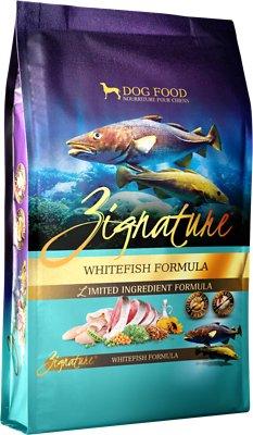 Zignature Whitefish Limited Ingredient Formula Grain-Free Dry Dog Food, 4-lb bag