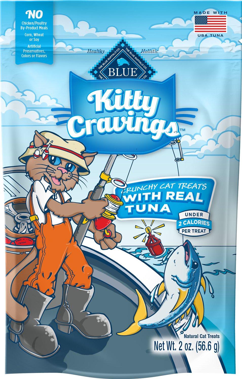 Blue Buffalo Kitty Cravings Tuna Crunchy Cat Treats, 2-oz bag