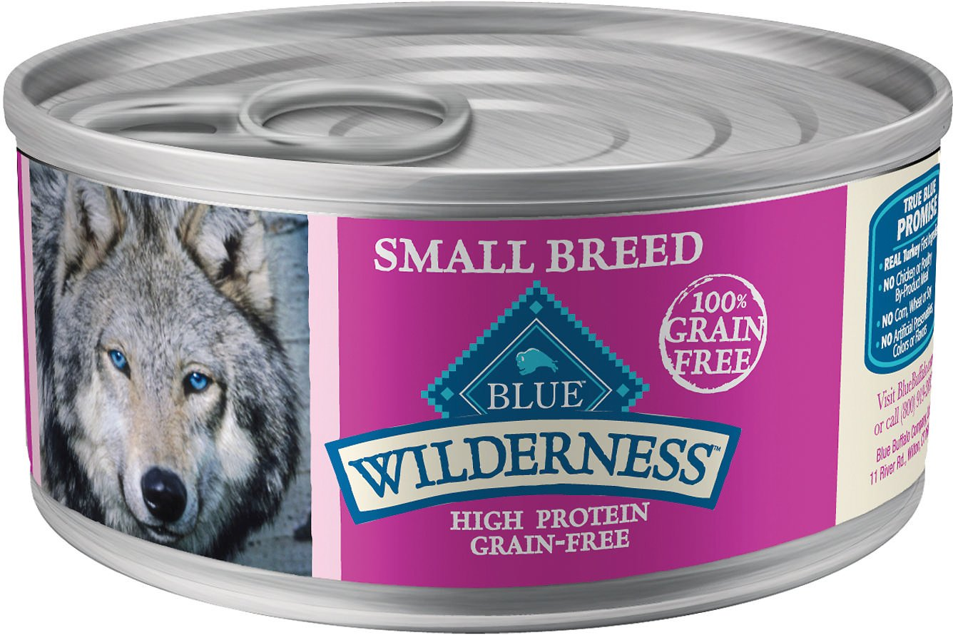 Blue Buffalo Wilderness Small Breed Turkey & Chicken Grill Grain-Free Canned Dog Food Image