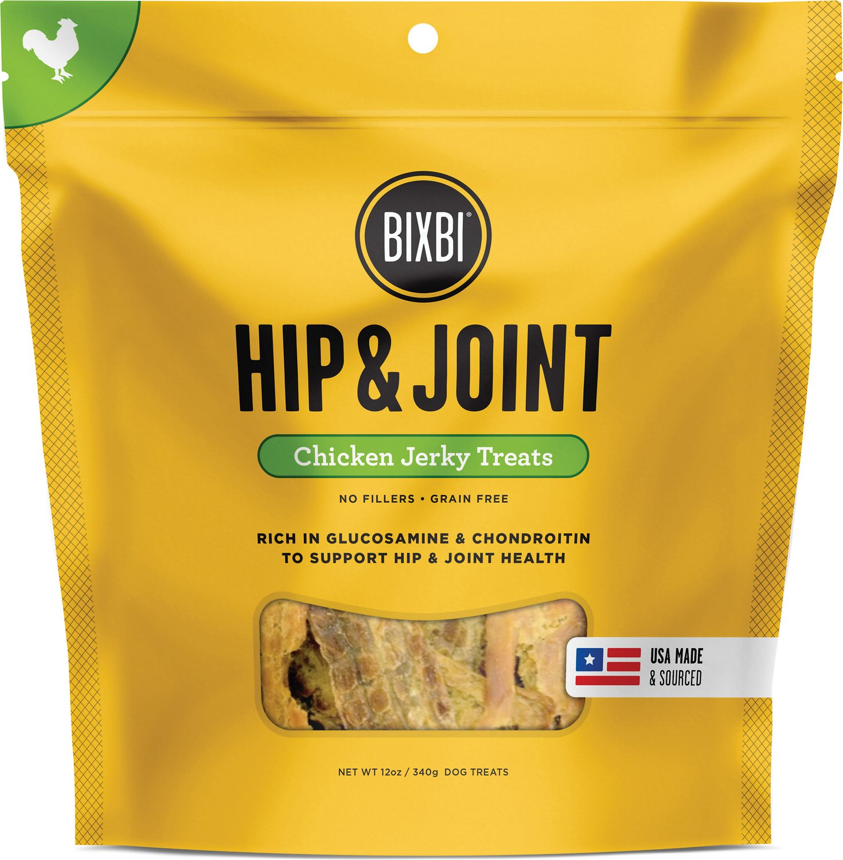 BIXBI Hip & Joint Chicken Jerky Dog Treats Image