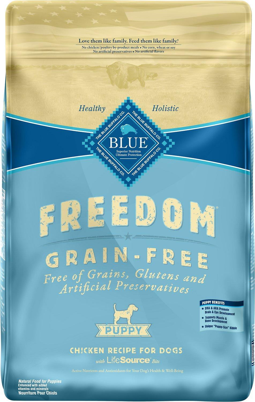 Blue Buffalo Freedom Puppy Chicken Recipe Grain-Free Dry Dog Food Image