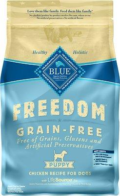 Blue Buffalo Freedom Puppy Chicken Recipe Grain-Free Dry Dog Food, 4-lb bag