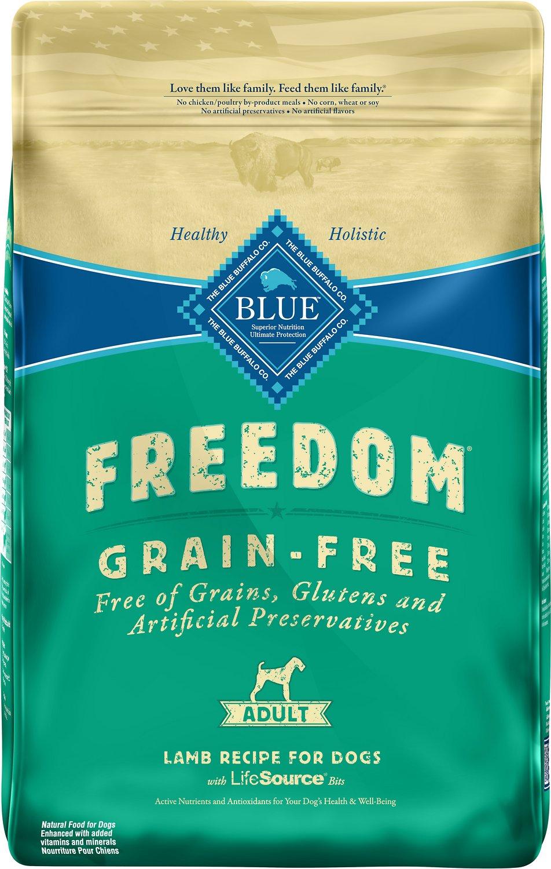 Blue Buffalo Freedom Adult Lamb Recipe Grain-Free Dry Dog Food Image