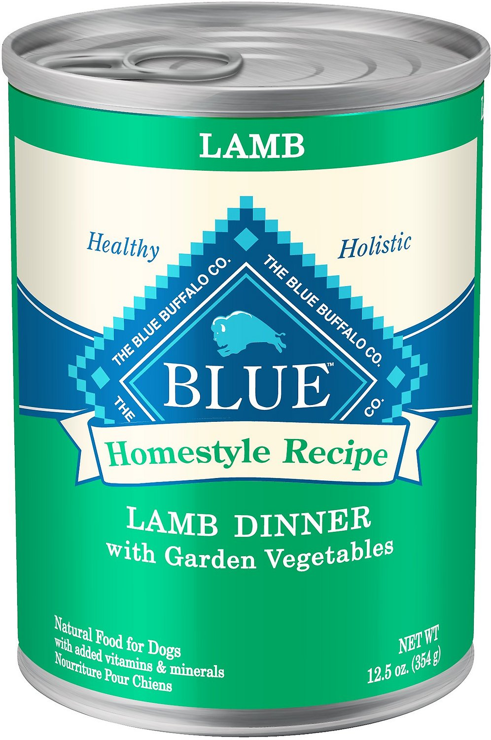 Blue Buffalo Homestyle Recipe Lamb Dinner with Garden Vegetables Canned Dog Food Image