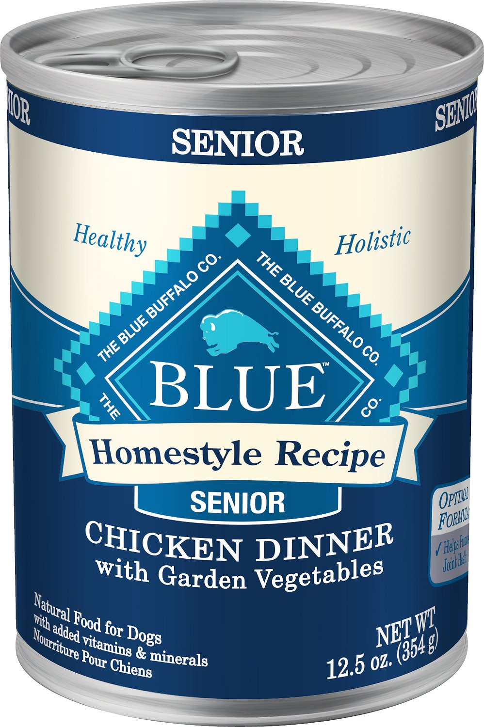 Blue Buffalo Homestyle Recipe Senior Chicken Dinner with Garden Vegetables Canned Dog Food Image