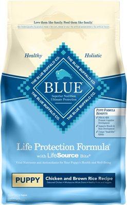 Blue Buffalo Life Protection Formula Puppy Chicken & Brown Rice Recipe Dry Dog Food, 6-lb bag