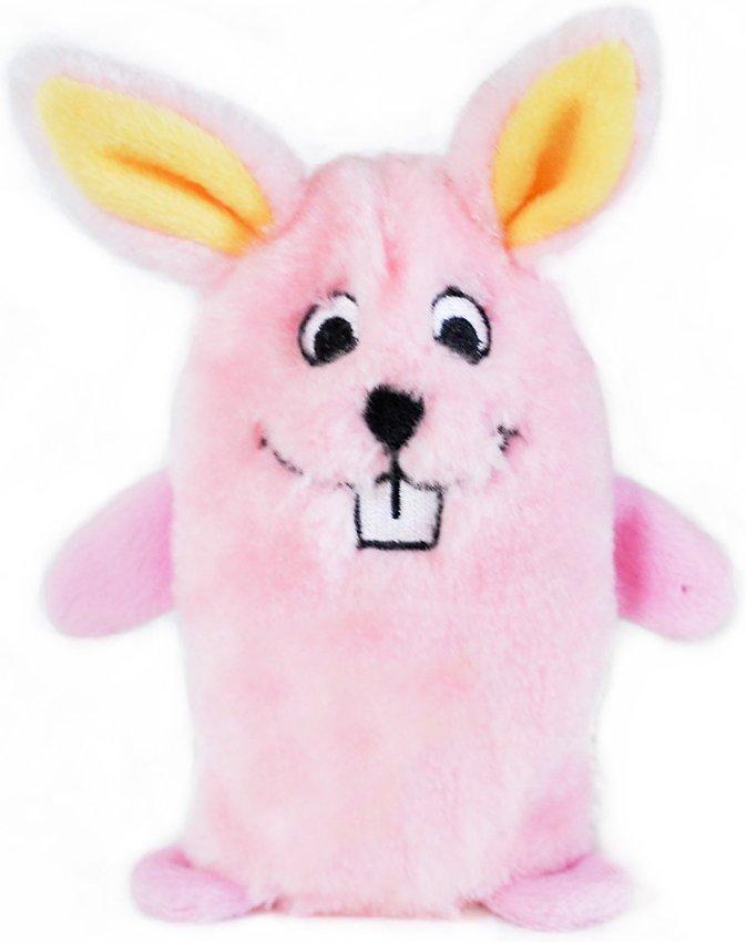 ZippyPaws Squeakie Buddie Bunny Plush Dog Toy