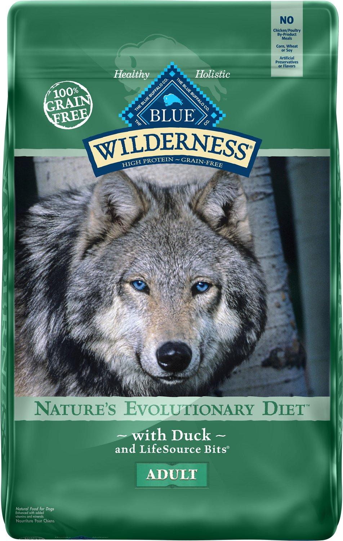 Blue Buffalo Wilderness Duck Recipe Grain-Free Dry Dog Food Image