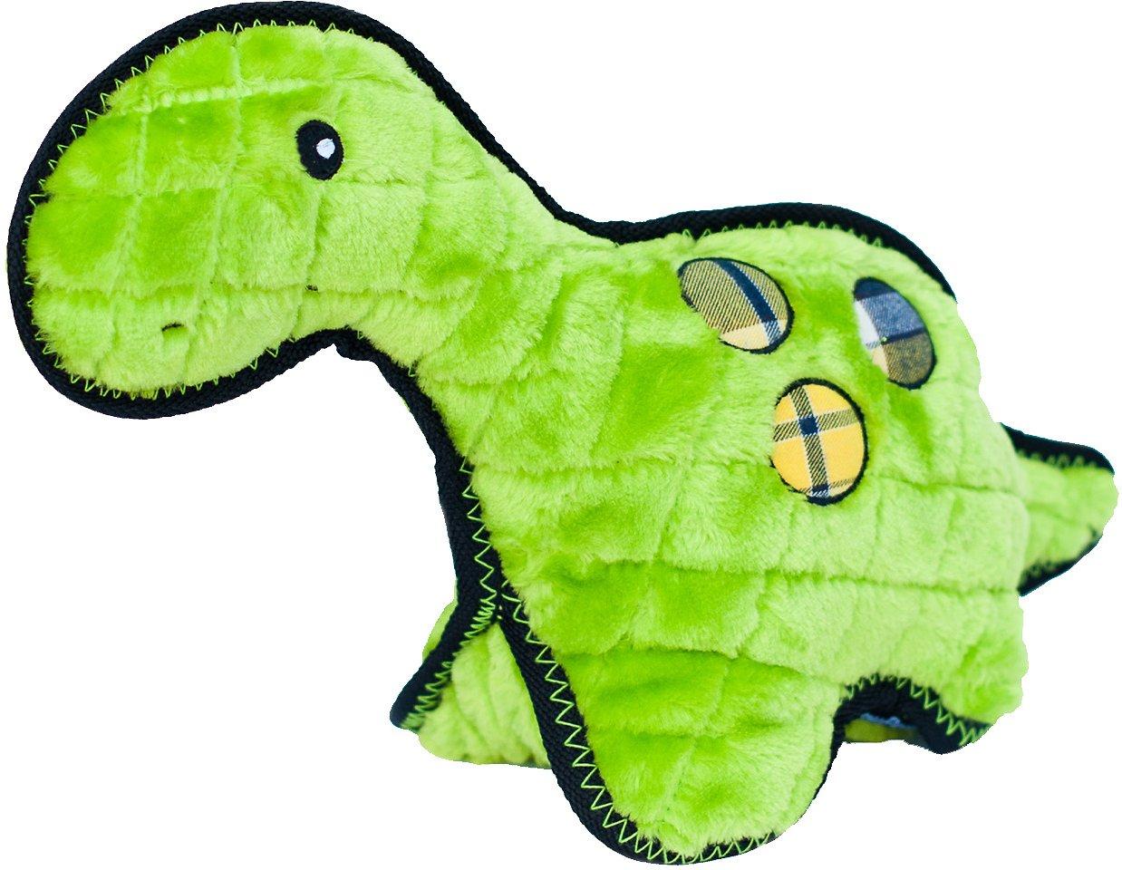 ZippyPaws Z-Stitch Grunterz Donny the Dinosaur Dog Toy