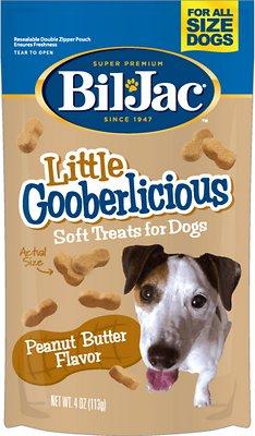 Bil-Jac Little Gooberlicious Peanut Butter Flavor Soft Dog Treats, 4-oz bag