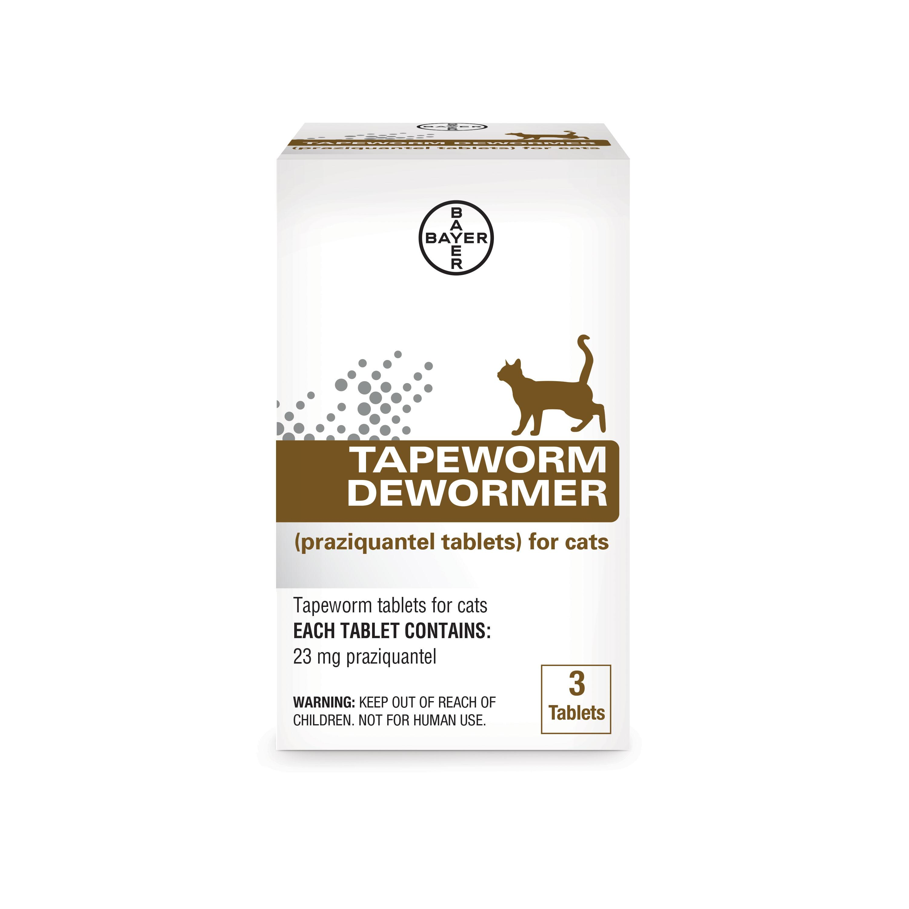 Tapeworm Cat De-Wormer, 3-count