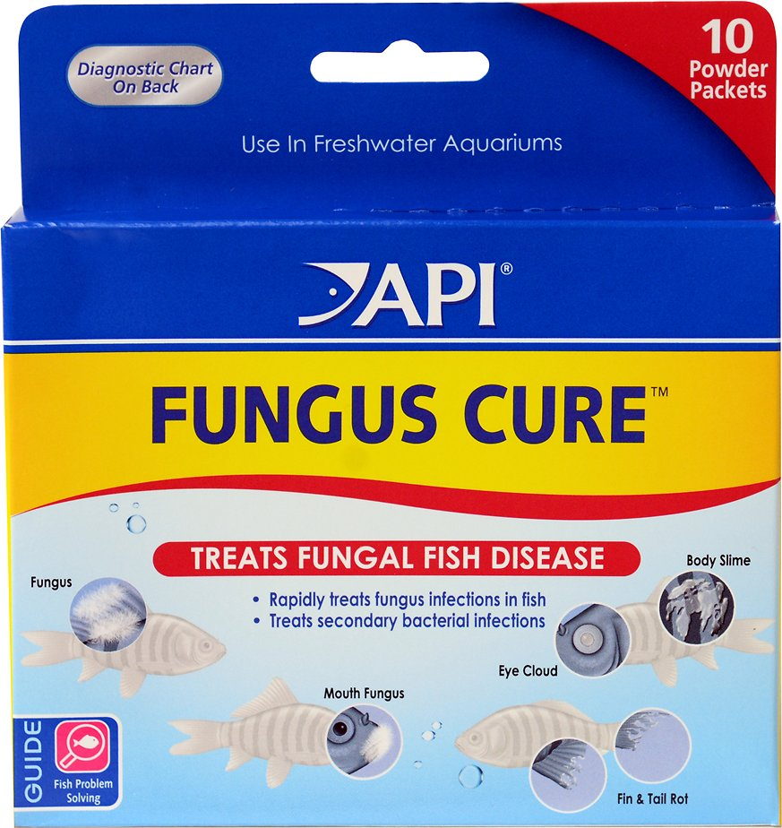API Fungus Cure Anti-Fungal Freshwater Fish Medication, 10 count Image