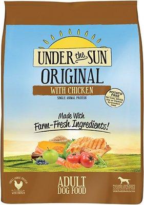 Under the Sun Original Adult Chicken Recipe Dry Dog Food, 5-lb