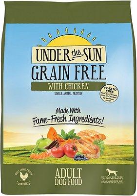 Under the Sun Grain-Free Chicken Recipe Adult Dry Dog Food, 25-lb