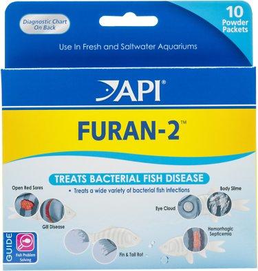 API Furan-2 Freshwater Aquarium Fish Medication, 10 count