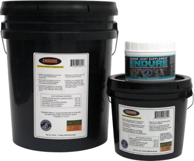 Annamaet Endure Dog Powder Supplement, 400-g jar
