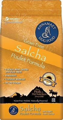 Annamaet Salcha Poulet Formula Grain-Free Dry Dog Food, 5-lb