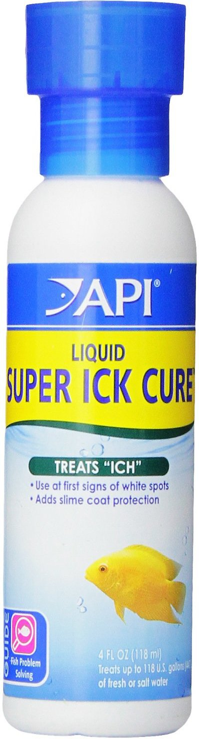 API Liquid Super Ick Cure Freshwater Aquarium Fish Medication Image
