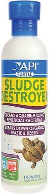 API Turtle Sludge Destroyer Aquarium Cleaner, 8-oz bottle