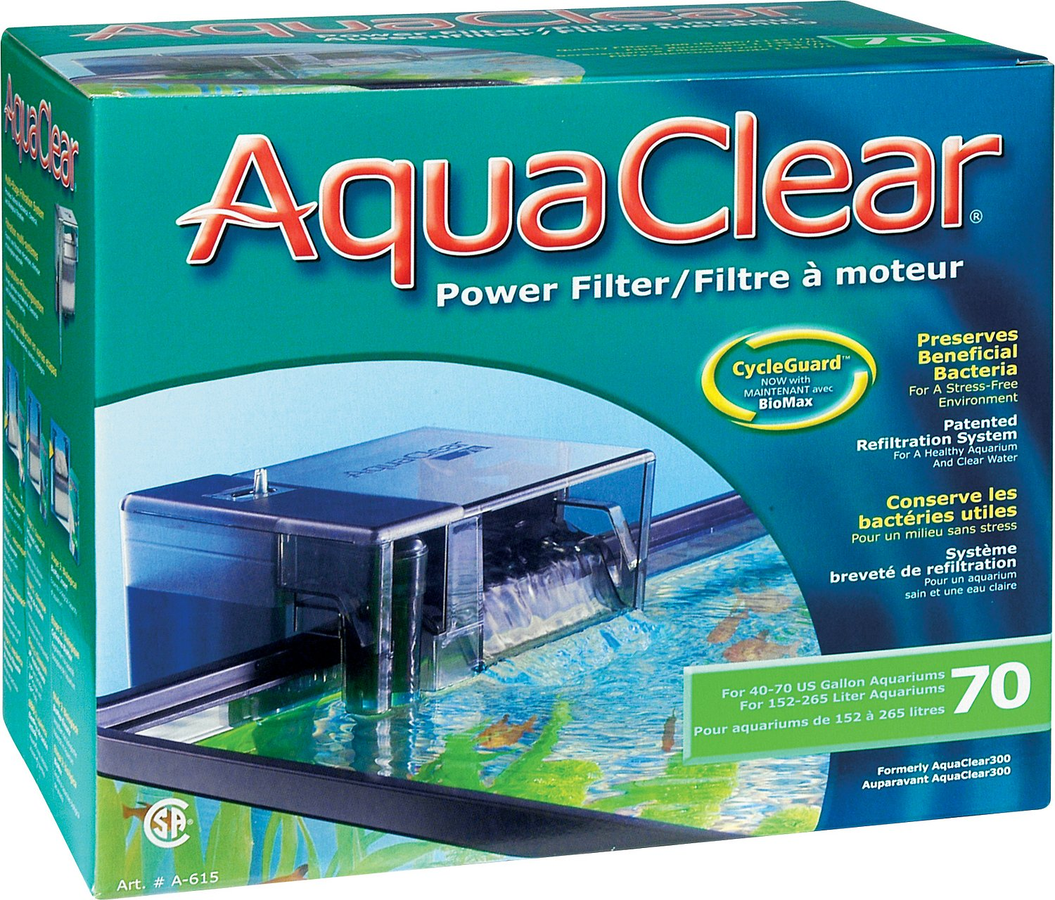 AquaClear CycleGuard Power Filter Image