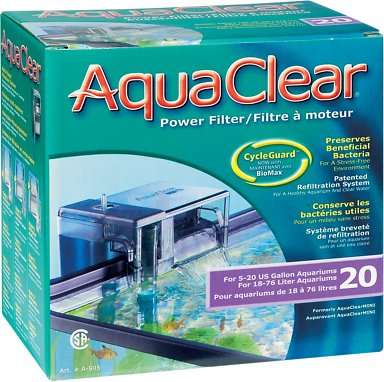 AquaClear CycleGuard Power Filter, Size 20
