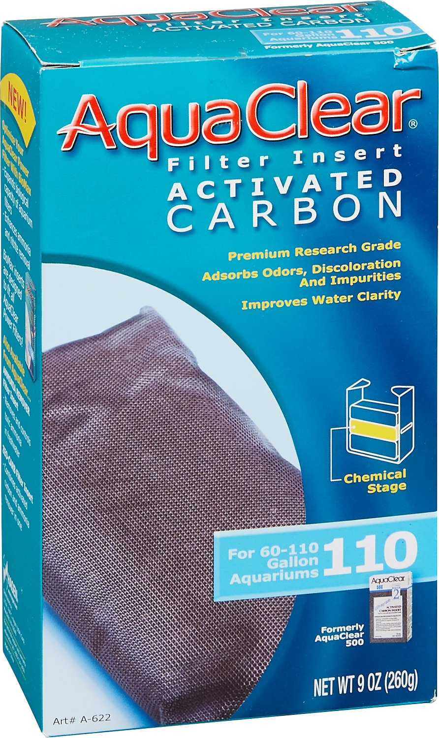 AquaClear Activated Carbon Filter Insert Image