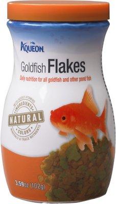 Aqueon Goldfish Flaked Fish Food, 3.59-oz jar