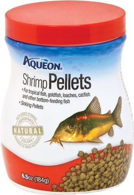 Aqueon Shrimp Pellet Tropical Fish Food 6 5 Oz Jar B B Pet Stop Inc