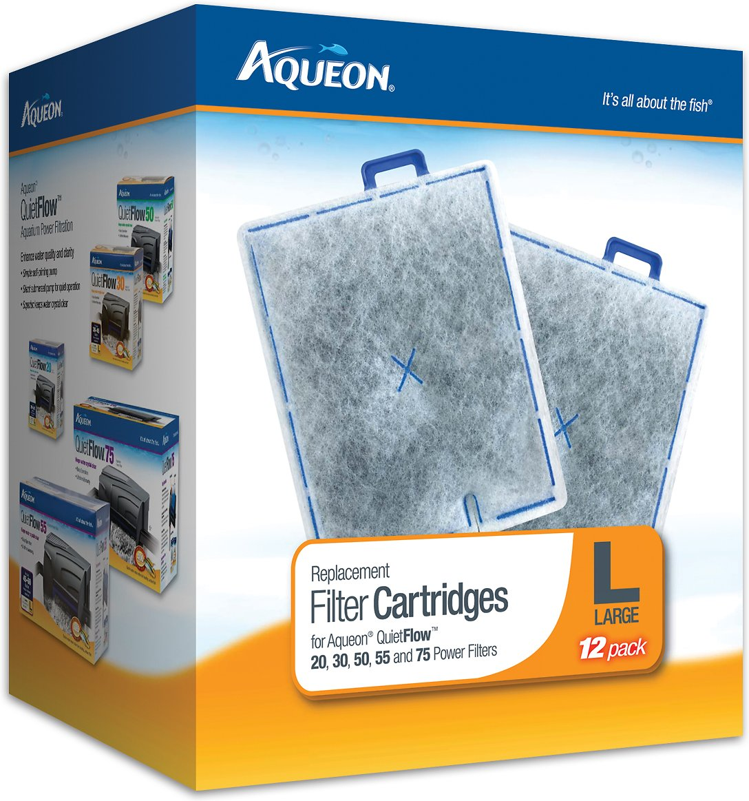 Aqueon Large Filter Cartridge Replacement Image